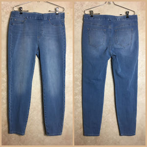 Realm Jeans Size 31 High Rise Ankle Blue